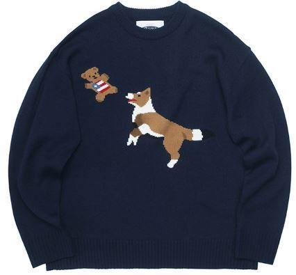 ニット・セーター 日本未入荷 QUIETISTのJump & Bite Knit Sweater(4)
