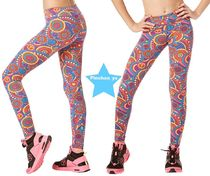 キッズH31.4新作【ZUMBA】Zumba Peace Long Leggings J1B00005
