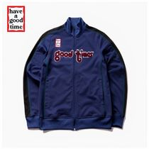 【have a good time】good time ロゴ ジャージ ジャケット