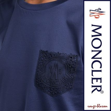 MONCLER Tシャツ・カットソー 【国内発送】MONCLER レースポケット Tシャツ(4)