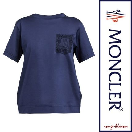 MONCLER Tシャツ・カットソー 【国内発送】MONCLER レースポケット Tシャツ(5)