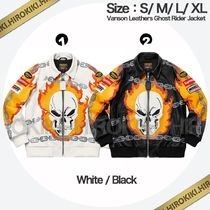 19SS /Supreme Vanson Leathers Ghost Rider Jacket バンソン