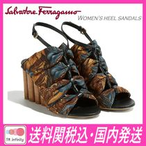★送料関税込★SALVATORE FERRAGAMO★Women's heel sandals★