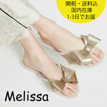 国内発送 Melissa Harmonic Bow Thong Sandals