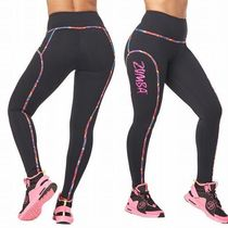 ☆ZUMBA・ズンバ☆High Waisted Piped Ankle Leggings