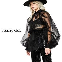 送料/関税込 †DOLLS KILL† ART BETCH ORGANZA TOP