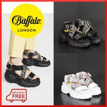 可愛い☆【 Buffalo London】 Classic Kicks Bo Sandals