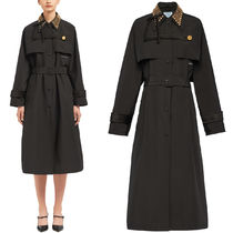 PR1966 STUDDED TRENCH COAT