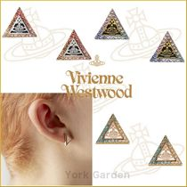 19SS新作★vivienne westwood★TRIANGLE三角ロゴピアス★3色より