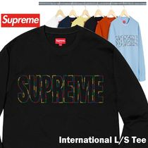 Supreme シュプリーム International L/S Tee SS 19 WEEK 7