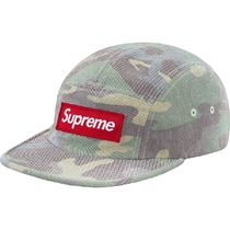 Supreme シュプリーム  Washed Out Camo Camp Cap SS 19  WEEK 7