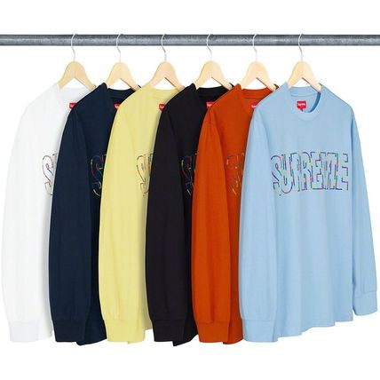 Supreme Tシャツ・カットソー 7 WEEK Supreme SS 19 International L/S Tee