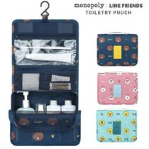 LINE FRIENDS(ラインフレンズ) トラベルポーチ ★monopoly×LINE FRIENDS★2018 TOILETRY POUCH【追跡送料込】