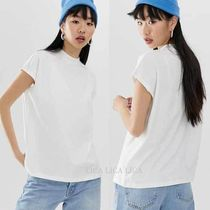 国内発送ASOS/Weekday Prime T-Shirt in White