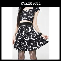関税/送料込*DOLLS KILL*UNDER THE STARS SKATER SKIRT