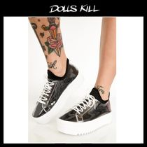 関税送料込*DOLLS KILL*GURL HYPE PLATFORM SNEAKERS