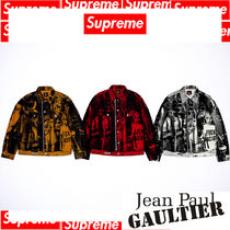 7 WEEK Supreme Jean Paul Gaultier Fuck Racism Trucker Jacket