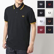 FRED PERRY(フレッドペリー) ポロシャツ FRED PERRY M3600 TWIN TIPPED FRED PERRY SHIRT ポロシャツ