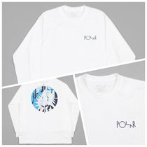 Polar Skate Co(ポーラースケートカンパニー) Tシャツ・カットソー 【New】PolarSkateCo Polar 69 Fill Logo Long Sleeve T-Shirt