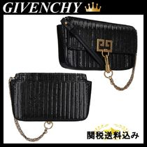 GIVENCHY POCKET MINI POUCH SNAKE EFFECT LEATHER