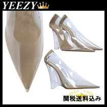 YEEZY(イージー) パンプス YEEZY CLEAR PVC WEDGE PUMPS