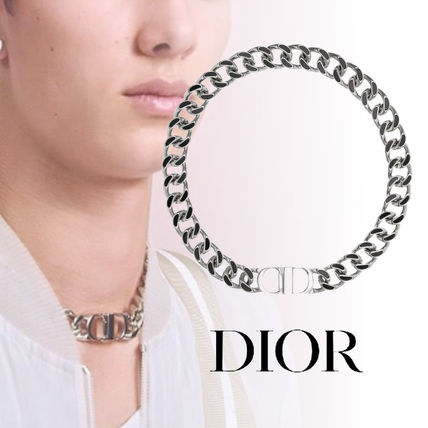 official photos a82f3 9ac86 19SS <DIOR ディオール> CD ICON ネックレス シルバー ロゴ