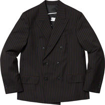 Supreme Jean Paul Gaultier Pinstripe Double Breasted Blazer