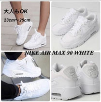 大人もOK ★限定セール【NIKE】Air Max 90 LEATHER★WHITE★