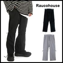 ☆RAUCOHOUSE☆ パンツ  STRING RUNNING TRACK PANTS 2色