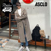 [ ASCLO ] Firenze Wide Double Coat (3color) MH112 / 追跡付