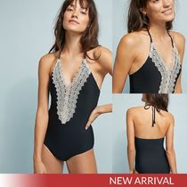Anthropologie Lace-Front Oiece レーフロント ワンピース水着
