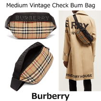 ▽国内発送・関税込▽Burberry▽Medium Vintage Check Bum Bag
