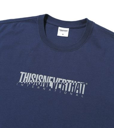thisisneverthat Tシャツ・カットソー ☆韓国の人気☆【thisisneverthat】☆CP-Intl. Tee☆4色☆(18)