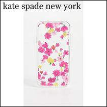 【kate spade new york】 Jeweled Marker Floral XR iPhone Case