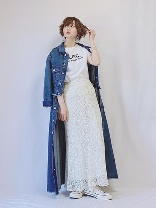 A.P.C. Tシャツ・カットソー 【日本限定】A.P.C. T-SHIRTS JIMMY RUE MADAME ロゴTシャツ(18)