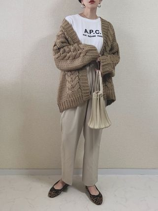 A.P.C. Tシャツ・カットソー 【日本限定】A.P.C. T-SHIRTS JIMMY RUE MADAME ロゴTシャツ(20)