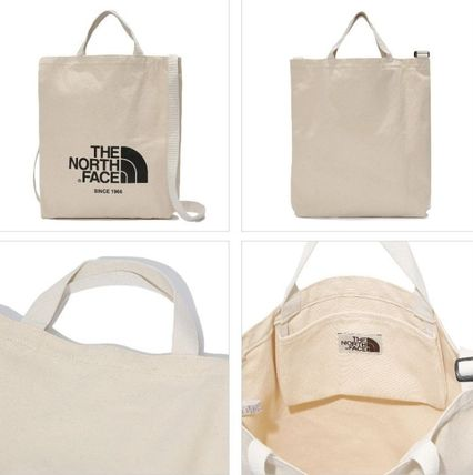 THE NORTH FACE トートバッグ 日本未入荷☆THE NORTH FACE ロゴ 2WAY トートバッグ(4)