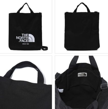 THE NORTH FACE トートバッグ 日本未入荷☆THE NORTH FACE ロゴ 2WAY トートバッグ(5)