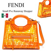 Fendi small pvc runaway shopper