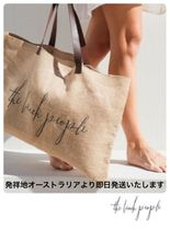 [the beach people]AU発☆麻 トートバック☆Original Jute Bag