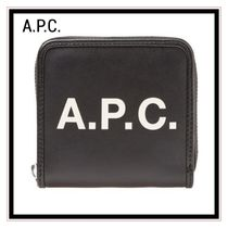 A.P.C.(アーペーセー) 折りたたみ財布 A.P.C. LOGO WALLET サイフ 国内発送