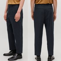 """COS(コス) パンツ """"COS MEN"""" TOPSTITCHED CROPPED TROUSERS NAVY"""
