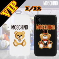 ◆VIP◆ Moschino IPHONE X/XS カバー テディベア