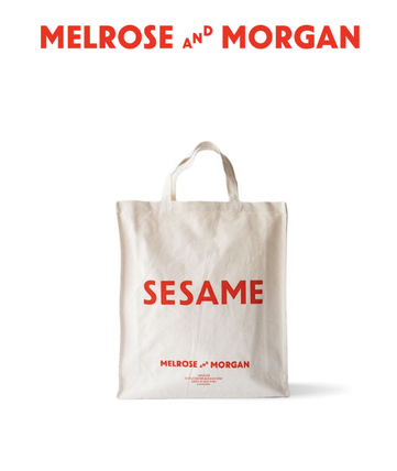 Melrose and Morgan トートバッグ エコバッグ SESAME