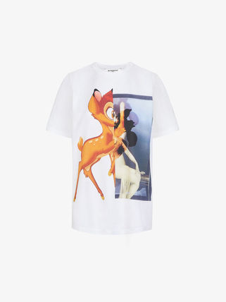 GIVENCHY Tシャツ・カットソー GIVENCHYジバンシィ19SSバンビプリント コットンTシャツ*2カラー(7)