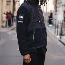 ★Supreme / TNF★SS19★Arc Logo Denali Fleece Jacket★ Black