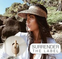 SURRENDER THE LABEL(サレンダーザレーベル) 帽子・その他 ☆Surrender the Label☆ Palm サンバイザー 日焼け防止に!