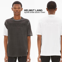 HELMUT LANG(ヘルムート ラング) Tシャツ・カットソー 【HELMUT LANG】Square S/S T-Shirt (関税送料込)