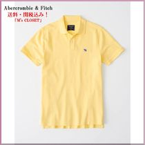 Abercrombie&Fitchアバクロロゴポロシャツ