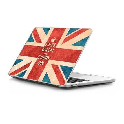 Casetify スマホケース・テックアクセサリー ★Casetify★MacBookケース#Keep Calm and Carry On Vintage